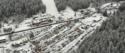 Parkování Ski areál Bílá v Beskydech
