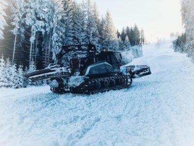 Úprava sjezdovky Ski areál Bílá