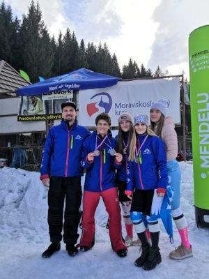 Ski Bílá racing team, závodní oddíl