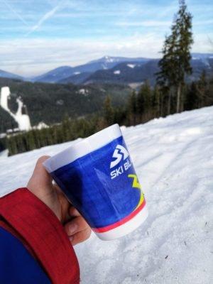 Merchandise Ski Bílá