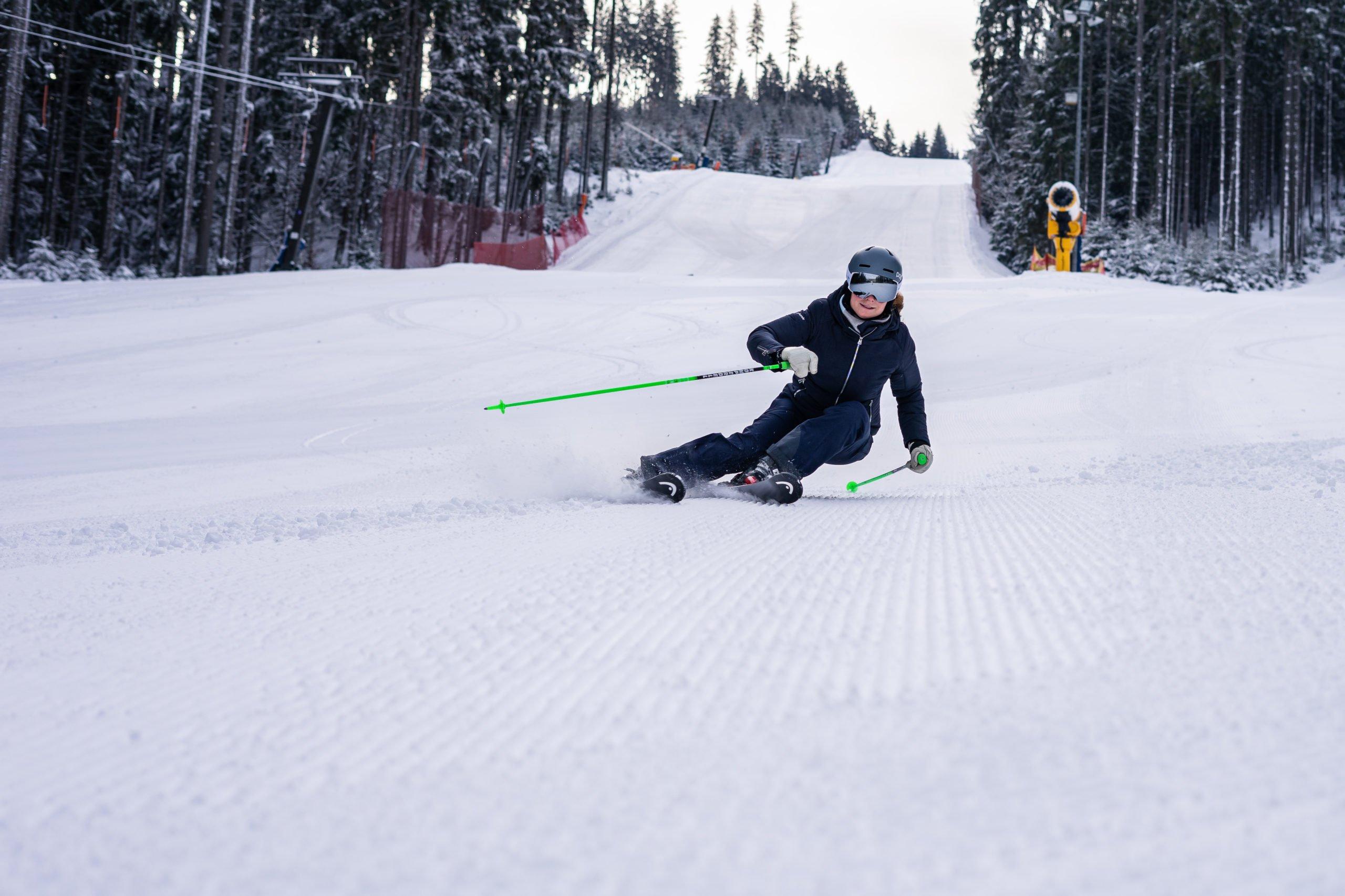 lyžařský areál Ski Bílá v Beskydech